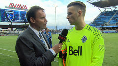 Tornaghi happy to get a chance to start for Whitecaps