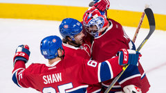 Canadiens defence helping make Montoya's life easy