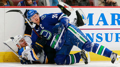 Canucks expect 'heavy' game with Blues