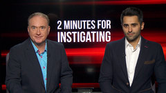 2 Minutes for Instigating  – What's up with these Canucks?