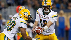 White helps Eskimos get back into the playoff hunt