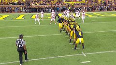 Must See: Wolverines whip out crazy offensive formation