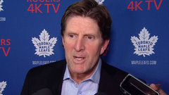 Babcock on Andersen: 'Pretty apparent where he's giving up goals'