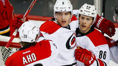 NHL: Hurricanes 4, Flames 2