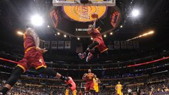 The crowning plays of King James' career
