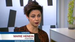 'It doesn't bother me': Marie Henein on facing her critics and being a woman in the workplace