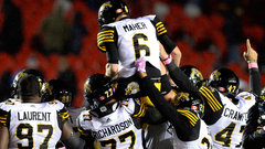 CFL: Tiger-Cats 39, Redblacks 36 (OT)