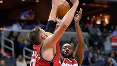 NBA: Raptors 82, Wizards 119