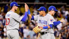 NLCS: Cubs 8, Dodgers 4