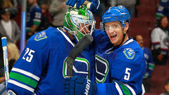 Undefeated Canucks getting it done defensively