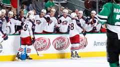 NHL: Blue Jackets 3, Stars 0