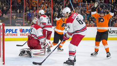 NHL: Hurricanes 3, Flyers 6