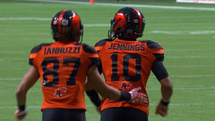 CFL In-Game: Jennings calls own number