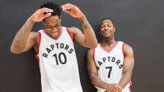 DeRozan and Lowry - The most unique backcourt in the NBA