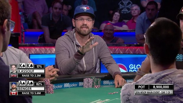 Must See: Tempers flare during wild hand at World Series of Poker