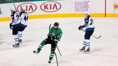 NHL: Jets 2, Stars 3
