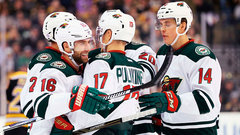 NHL: Wild 5, Bruins 0