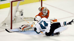 NHL: Ducks 1, Sharks 2 (OT)