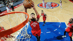 Valanciunas aiming to build on breakout playoff performance