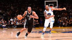 NBA: Spurs 129, Warriors 100