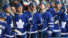 How can the Leafs stay positive?