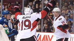 NHL: Senators 3, Canucks 0