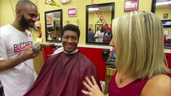 Winston can remember every barber who's cut his hair