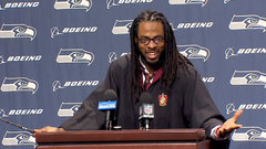 Must See: Richard Sherman dresses up as Harry Potter