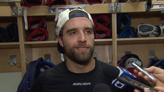 Ekblad on Komarov hit, playing with Matthews, Rielly
