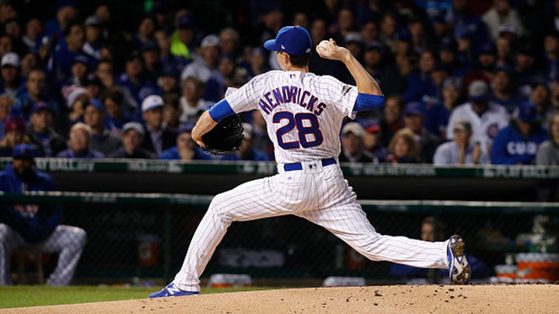 Hendricks poses tough test for Indians in historic Game 3