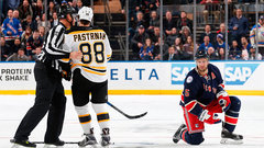 Pastrnak suspended two games for hit on Girardi
