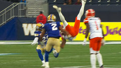 CFL Must See: Burnham makes another acrobatic catch