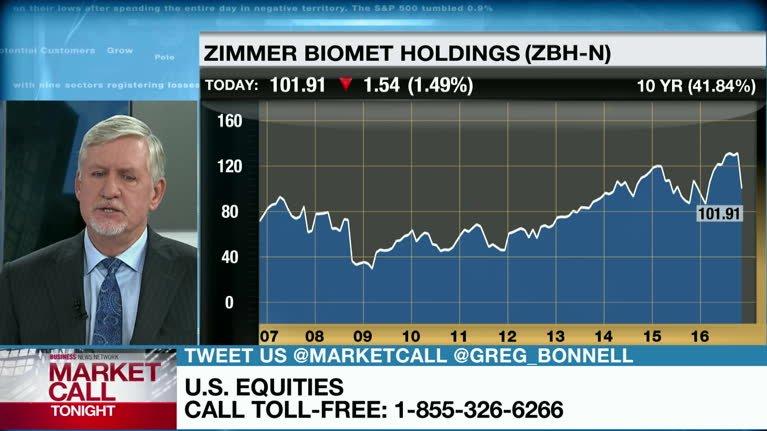 Gordon reid discusses zimmer biomet holdings video bnn for Zimmer biomet holdings