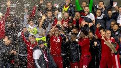 Toronto FC celebrates Eastern Conference Championship