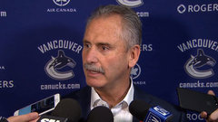 Desjardins on the hot seat and he knows it