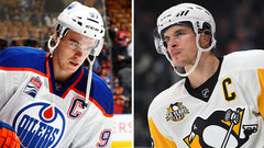 Who was better after first 58 career games - McDavid or Crosby?