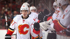Jets looking to slow down red-hot Gaudreau, Flames
