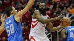 NBA: Mavericks 87, Rockets 109