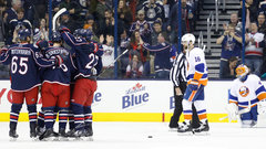 NHL: Islanders 2, Blue Jackets 6