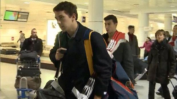 Team Canada hopefuls arrive in Montreal