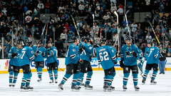 NHL: Hurricanes 3, Sharks 4