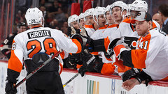 Flyers ride second period momentum all the way to OT
