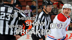 10 things you missed while Shaw freaked out