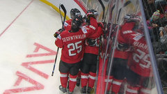 In-Albon opens scoring off great feed from Hischier