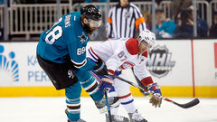 Habs looking for first win in SJ in over 17 years