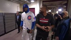 Must See: LeBron shows up in Cubs uniform to pay off bet