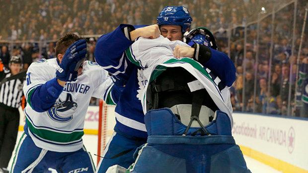 Leafs, Canucks downplaying bad blood ahead of rematch