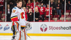 Johnson looks to stay hot as Flames host Wild