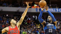 NBA: Bulls 82, Mavericks 107