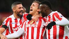 EPL: Stoke City 2, Burnley 0